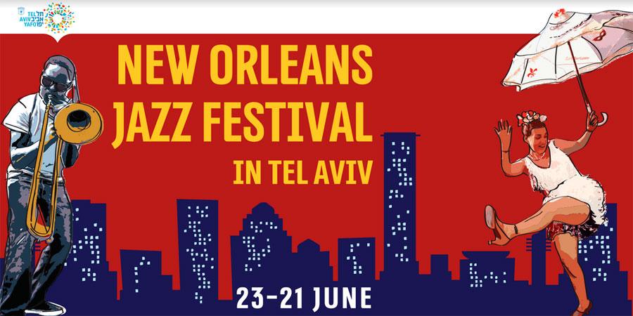 New Orleans Jazz Festival Tel Aviv 2018